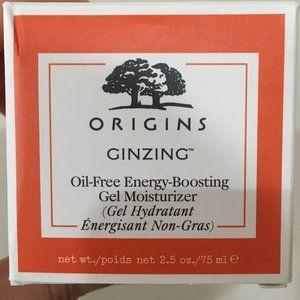 Origins Ginzing Gel Moisturizer 2.5 oz New in Box